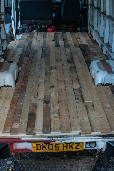 Floorboard assembled